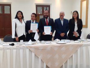 Firman convenio Canacintra y Corporativo Internacional Universitario 1