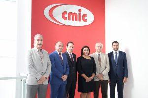 Pancho Domínguez refrendó alianza con CMIC 1