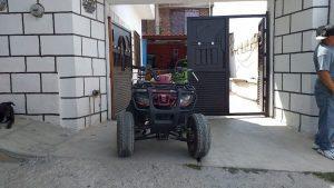 Sorprenden a sujeto robando motoneta 1