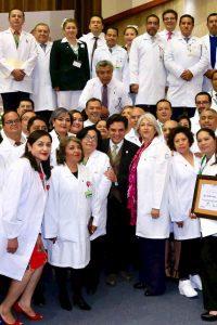Ceremonia Institucional Día del Médico CMN Siglo XXI 1