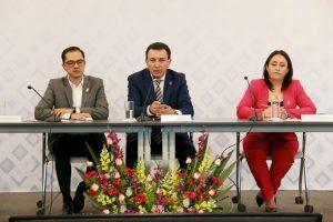 Juan Marcos Granados Torres da cuenta del estado que guarda la Secretaría de Seguridad Ciudadana ante diputados de la LIX Legislatura 1