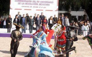 Tequisquiapan realiza desfile revolucionario 1