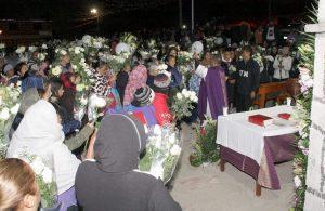 Recuerdan con misa a fallecidos en Fuentezuelas por explosión 1
