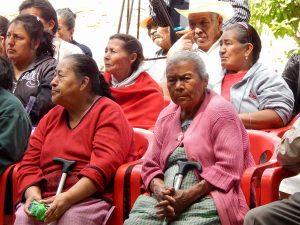 5,592 adultos mayores se benefician con apoyo Federal 1