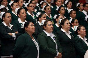 Reconoce IMSS a enfermeras queretanas 1
