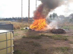 Incinerar la FGR en Querétaro 21 mil unidades de psicotrópicos asegurados 1
