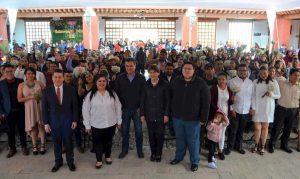 Se casan 59 parejas en Teqsquiapan 1