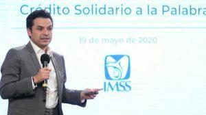 Se dispersarán más de 4 mil 779 millones de pesos por Crédito Solidario a la Palabra: IMSS 1