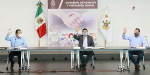 Sesionó Comisión de Trabajo y Previsión Social de la Legislatura de Querétaro 1