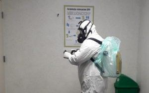Sanitiza IMSS Querétaro sus instalaciones para evitar enfermedades 1