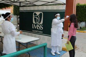 Incrementa IMSS Querétaro filtros sanitarios 1