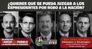 Avanzan en recolección de fimas para juicio contra ex presidentes 1
