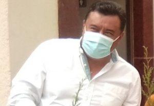 Ricardo Badillo en lucha por conseguir abanderamiento por Morena 1