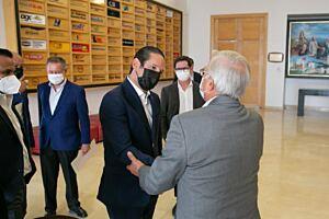 Francisco Dominguez asistio a reunion con Club de Industriales de Queretaro 2