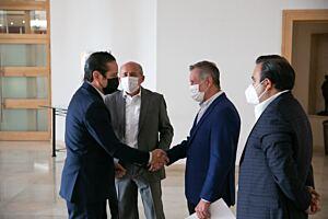 Francisco Dominguez asistio a reunion con Club de Industriales de Queretaro 3