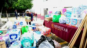 Bienestar Querétaro realizó envío de ayuda ciudadana a familias de Tula, Hidalgo