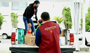 Bienestar Queretaro realizo envio de ayuda ciudadana a familias de Tula Hidalgo 2