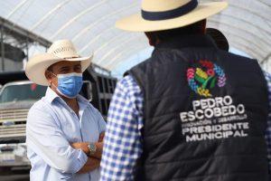 Titular de SEDEA se reúne con presidentes municipales de Pedro Escobedo y El Marqués